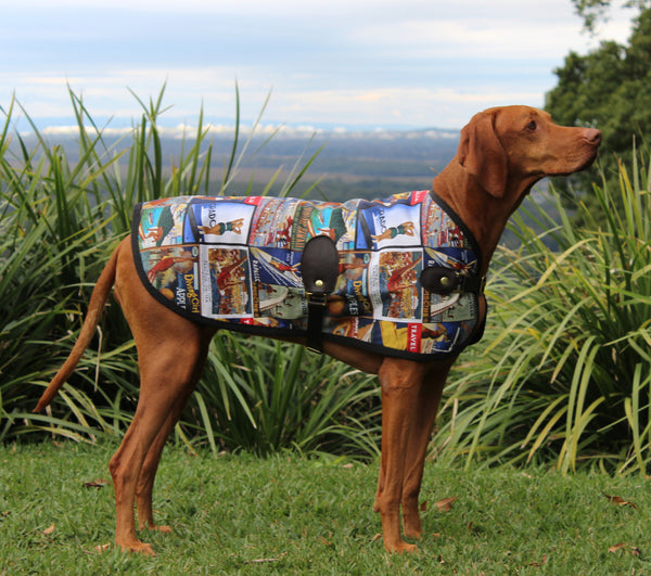 The Sydney Blazer - [Product_type] - Owen & Edwin - Dog Coat - Dog Jacket - Pointer - Vizsla - German Shorthaired Pointer - Weimaraner - luxury