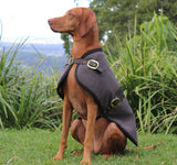 The Melbourne Blazer - Dark Oak - [Product_type] - Owen & Edwin - Dog Coat - Dog Jacket - Pointer - Vizsla - German Shorthaired Pointer - Weimaraner - luxury