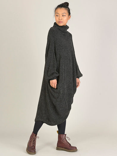 Robe oversize cocon col haut | Forgotten Tribes - Vêtements ethniques - Urban Style
