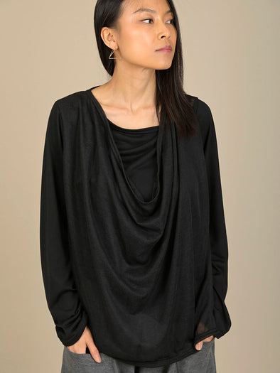 Double Layered Top with Neck Detail