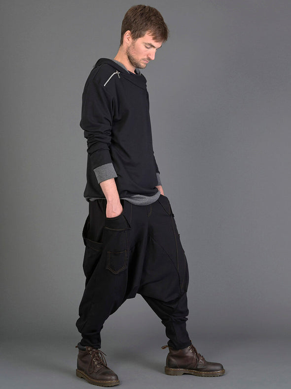 Sarouel coton style jean (homme) | Forgotten Tribes - Vêtements ethniques - Urban Style