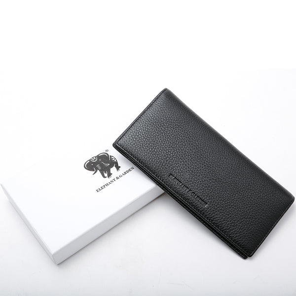 Elephant Garden Men's Smooth Leather Narrow wallet-W75219