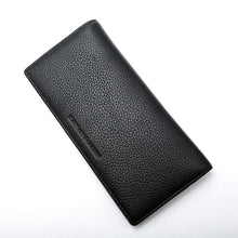 Load image into Gallery viewer, Elephant Garden Men's Smooth Leather Narrow wallet-W75219