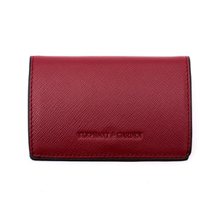 Elephant Garden Men's Leather Business Card Holder-C76065