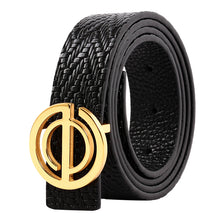 Load image into Gallery viewer, 2019 new Style ELEPHANT GARDEN Women' s Leather Belt  Black B9109