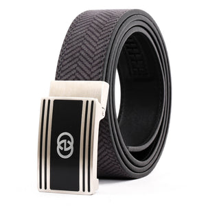 Elephant Garden Men's Leather Belt with Automatic Buckle B9814 One Size