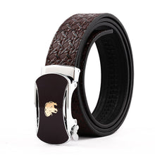 Load image into Gallery viewer, Elephant Garden Men' s Leather Belt with Automatic Buckle B9819  One Size