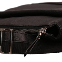 Load image into Gallery viewer, Elephant Garden Men's Leather Shoulder Bag -Black- H70428