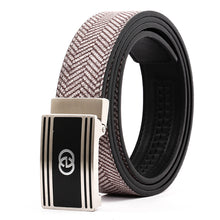 Load image into Gallery viewer, Elephant Garden Men's Leather Belt with Automatic Buckle B9814 One Size