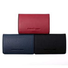Load image into Gallery viewer, Elephant Garden Men's Leather Business Card Holder-C76065