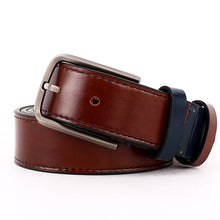 Load image into Gallery viewer, Elephant Garden Men's Smooth Leather Dress Belt - B7201