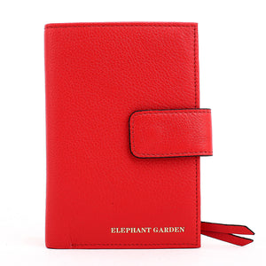 Elephant Garden Women's Multi Colored Leather wallet  C10705