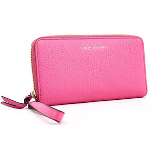 Elephant Garden Women's Colorful  Continental Large Zip Wallet W10518
