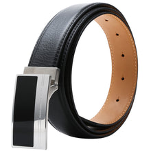Load image into Gallery viewer, Elephant Garden Men's Edge Stitch Leather Belt - B7503