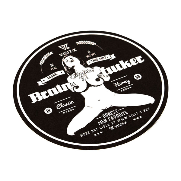 "Bierdeckel ""Brainfucker"""