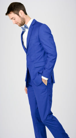Royal Blue Suit
