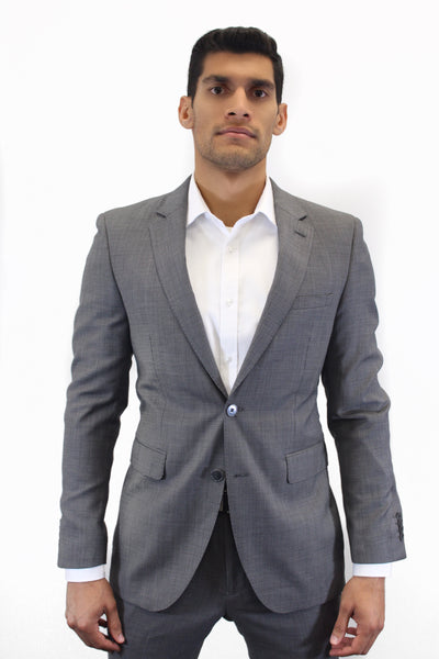ITAL UOMO GREY STRUCTURED