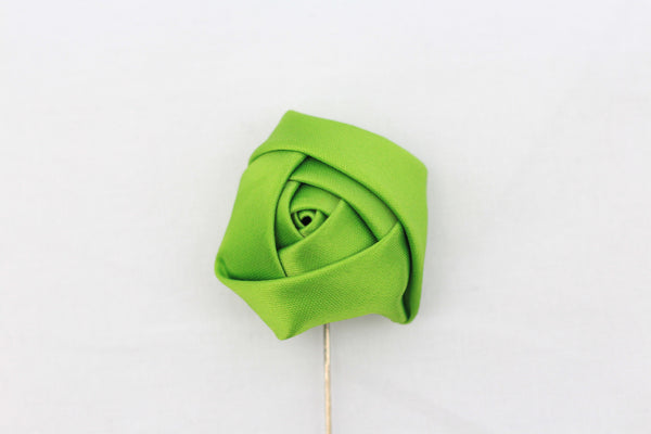 Green Flower Pin