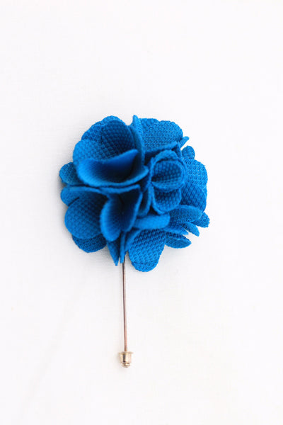 Blue Flower Pin