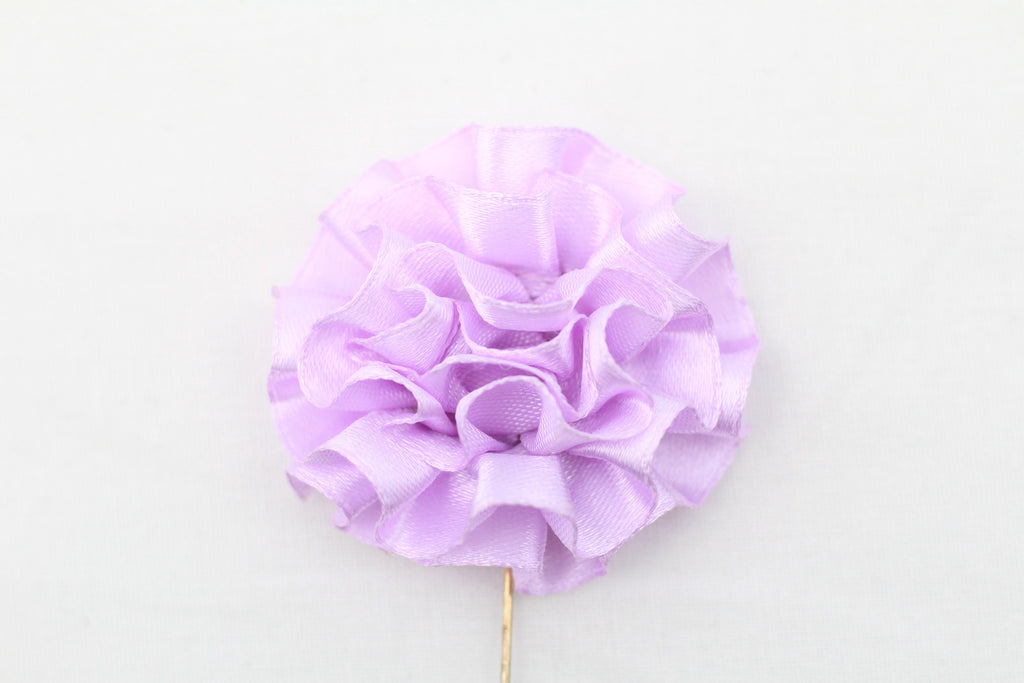 Purple Flower Pin