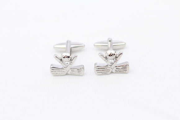 Golfclub-Shaped Cuff Links