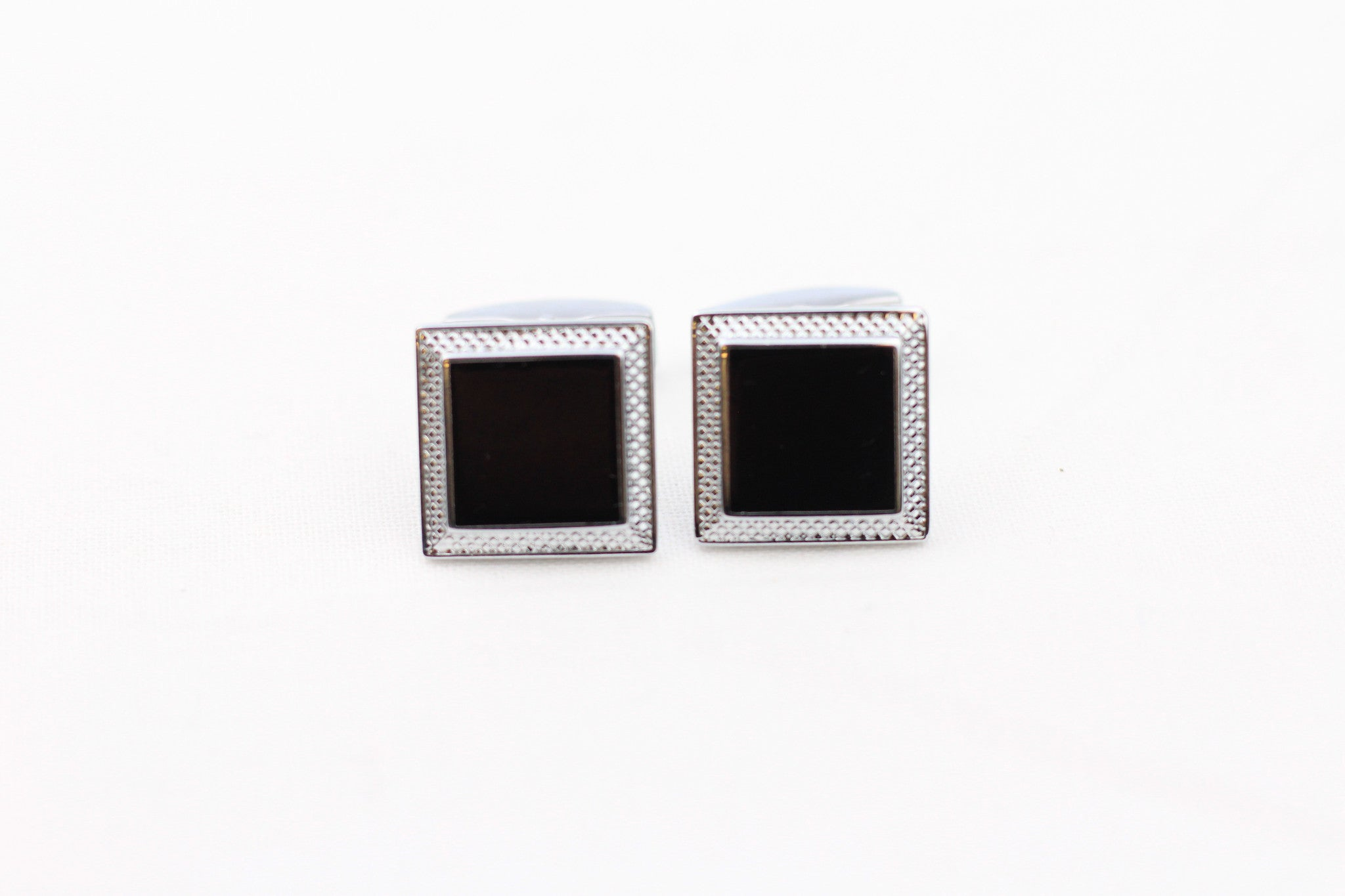 Black Cuff Links