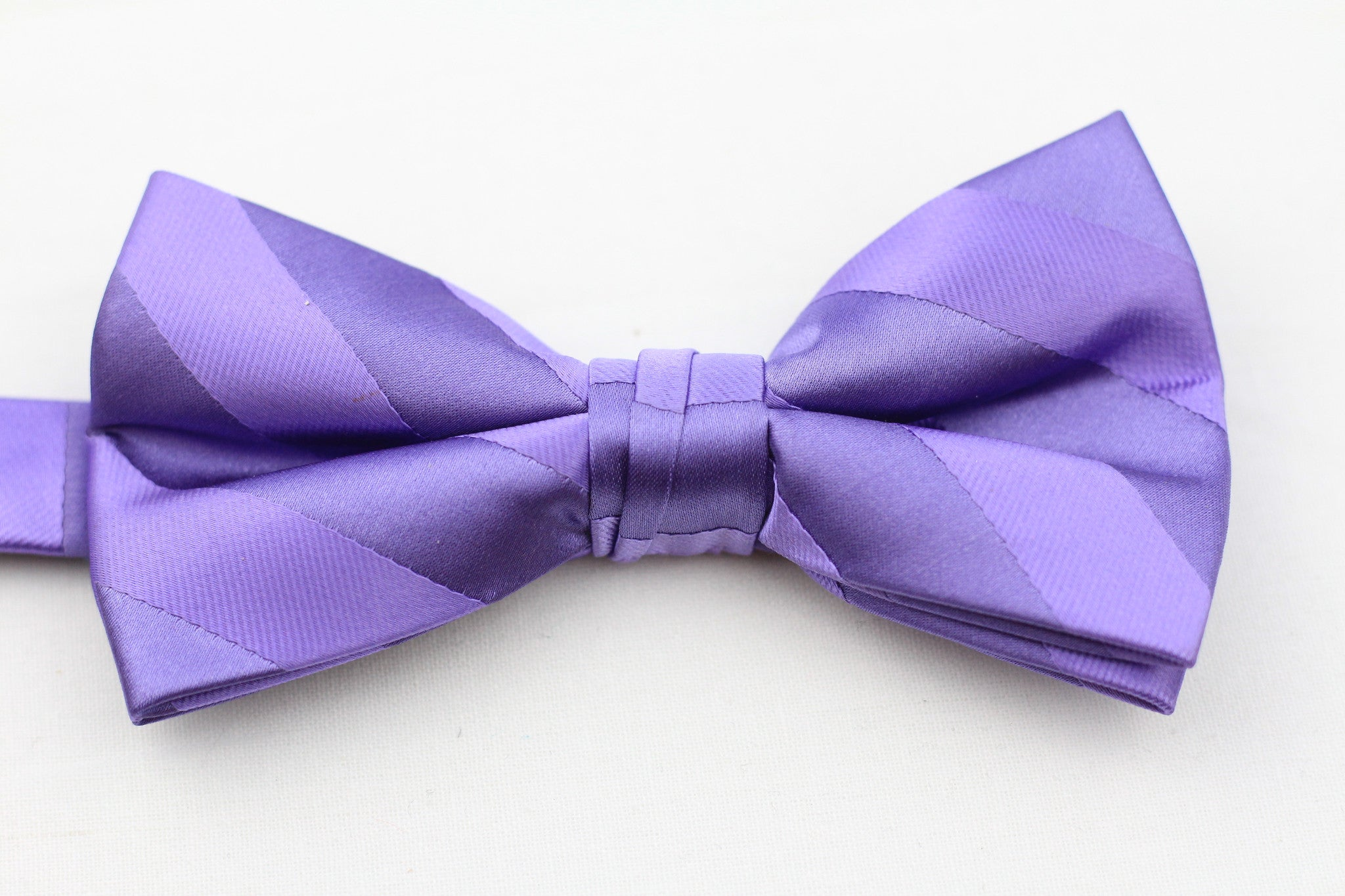 Purple Bow-Tie plus Pocket Square