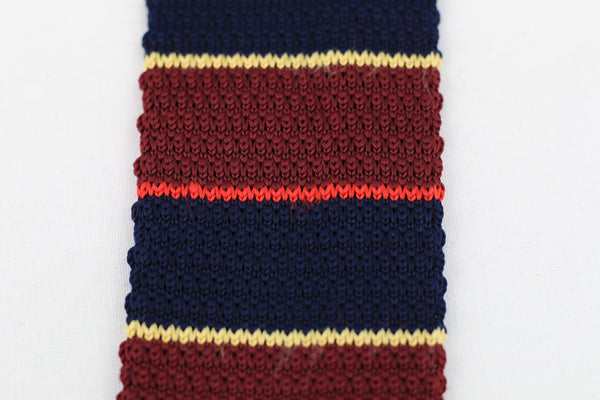 Striped Knit-Tie
