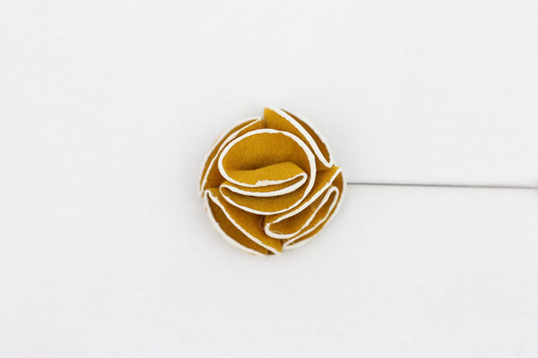 Golden Flower Pin