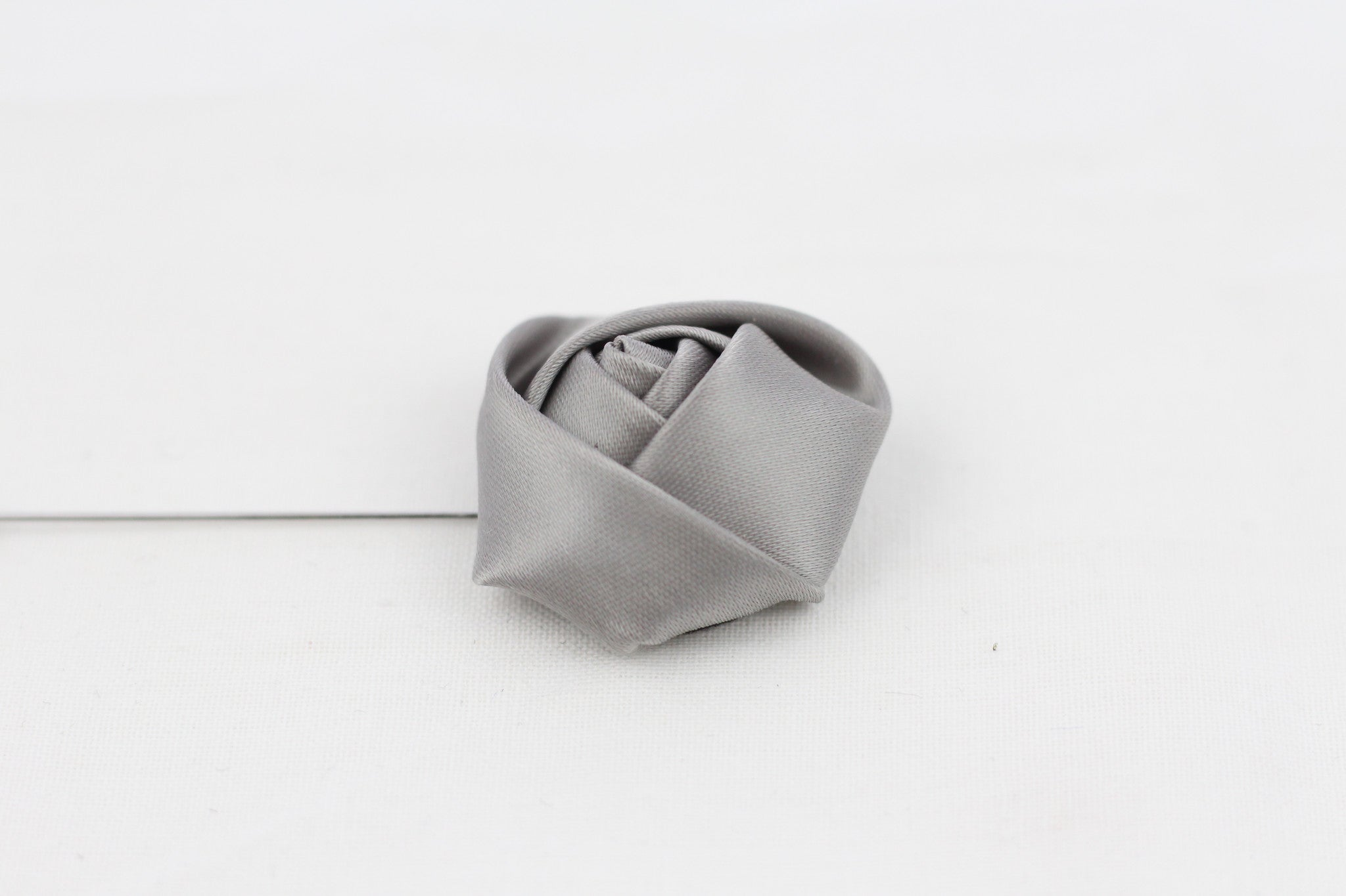 Grey Flower-Pin