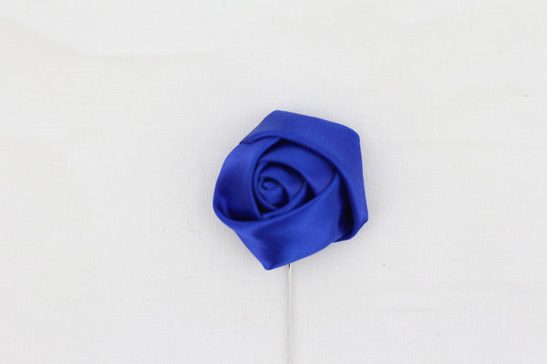 Midnight Blue Flower Pin