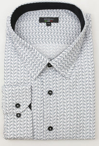 Rivelli Grey|White Shirt