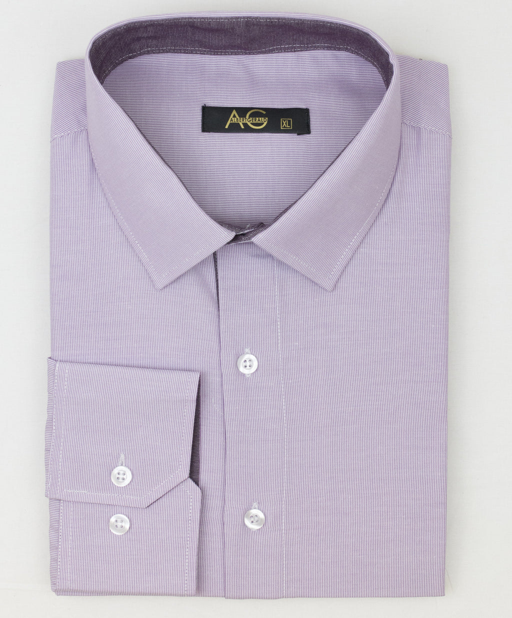 AG Slim Dress Shirt|Rose-Striped