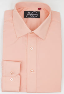 Dress Shirt in Peach