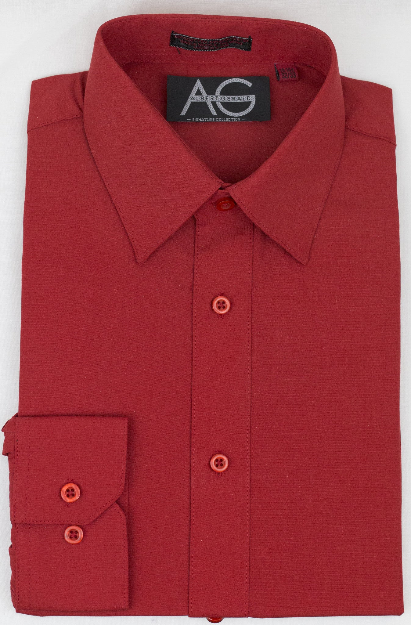 Dress Shirt in Red