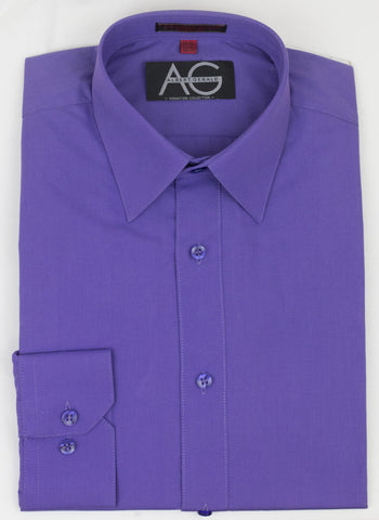 Dress Shirt in Purple