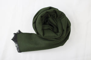 Reversible Scarf Olive|Black