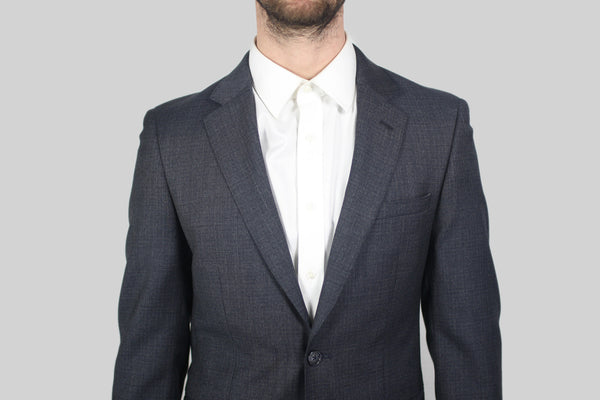 Grey Checked Suit