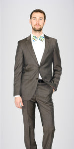 ItalUomo Olive Green Suit