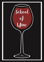 The School of Wine Perth Western Australia logo