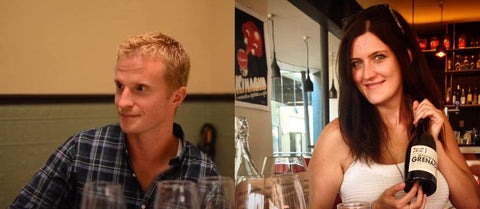 School of Wine Perth owners Suz Fisher Adam Collett