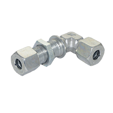 Bulkhead Union Elbow, Compression Tube Fitting