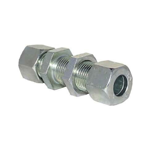 Bulkhead Union, Compression Tube Fitting