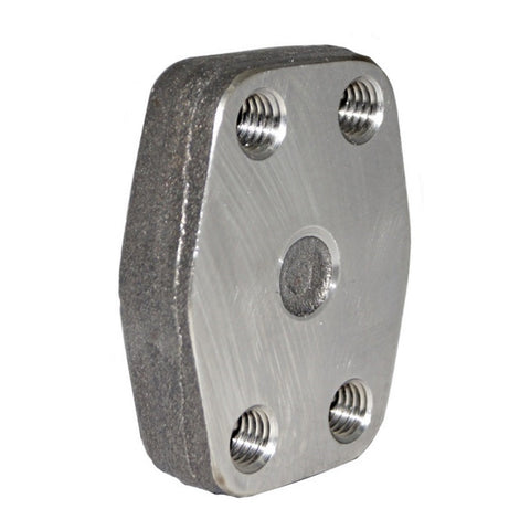 Blind SAE Counter Flange (MM Bolt Thread)