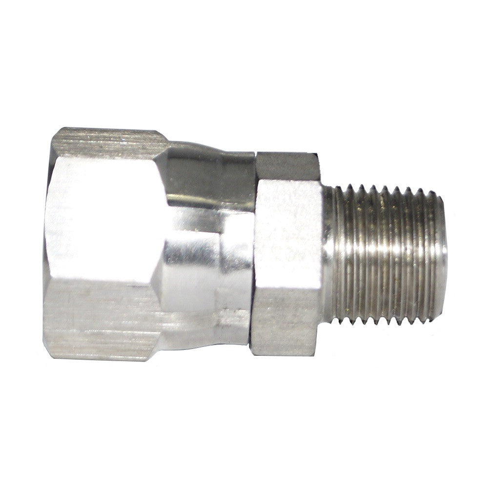 JIC x NPT Swivel Connector, JIC Fitting