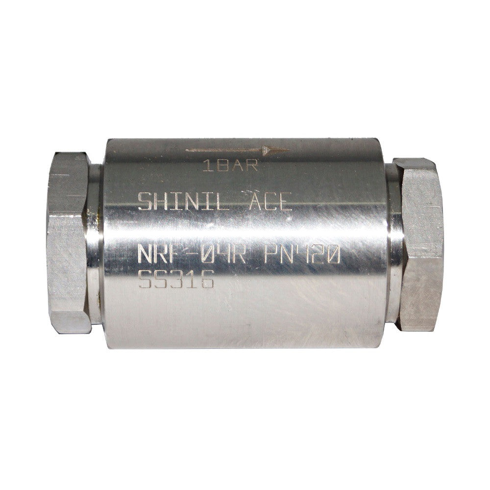 BSPP SS316 Check Valves, Shinilace