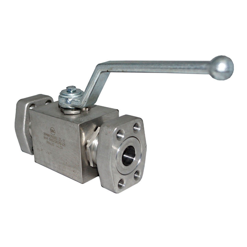 SAE Flange Ball Valves, BKH/MKH SAE Type, 6000 Series
