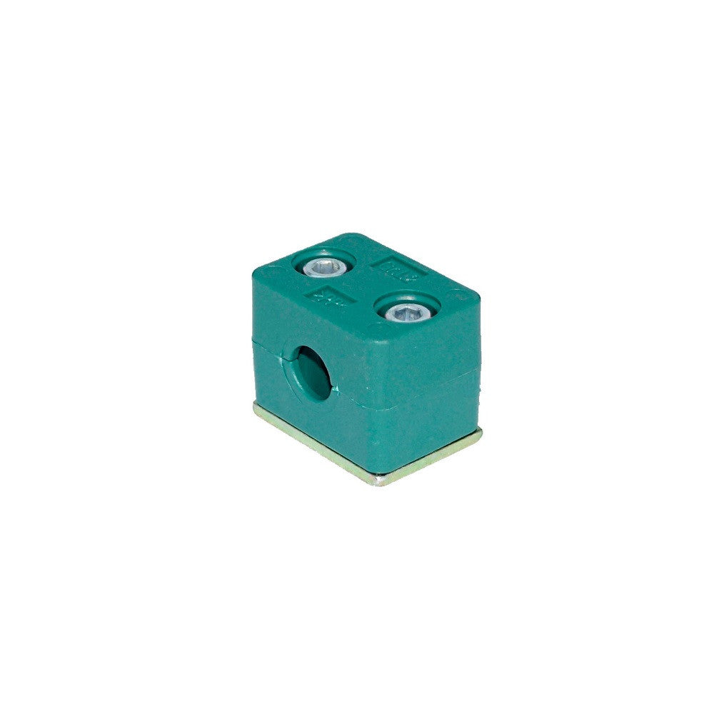 Standard Series PP Clamp c/w Base Plate, Cap Scew (Steel)
