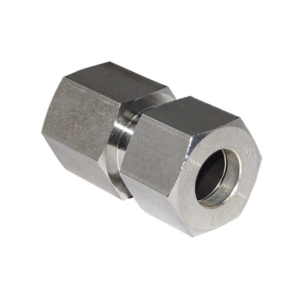 Tube x BSPP Female Connector, Compression Tube Fitting