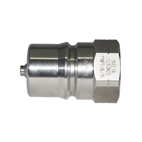 ISO B Plugs (Male) x Female NPT